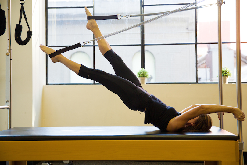 Pilates equipment at MOSIC
