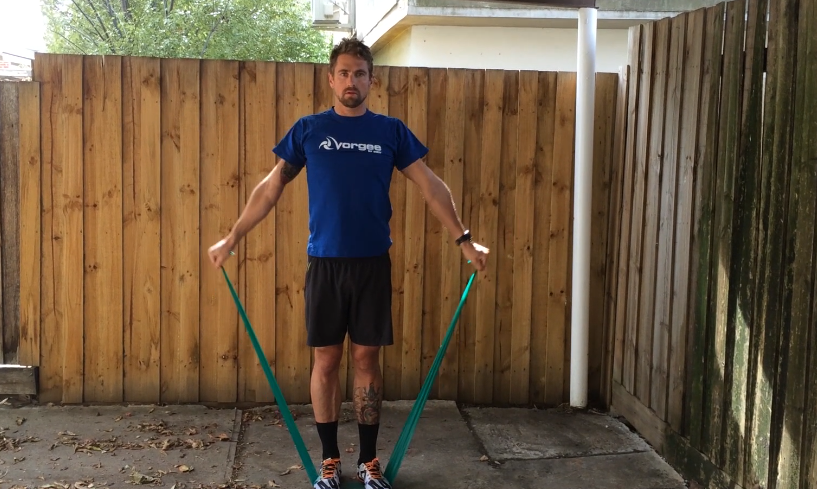 TheraBand Exercises for Swimmers